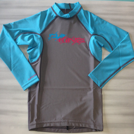 Dakine Youth Rashies: Dakine Kids Heavy Duty Snug L/S - Surf Ontario