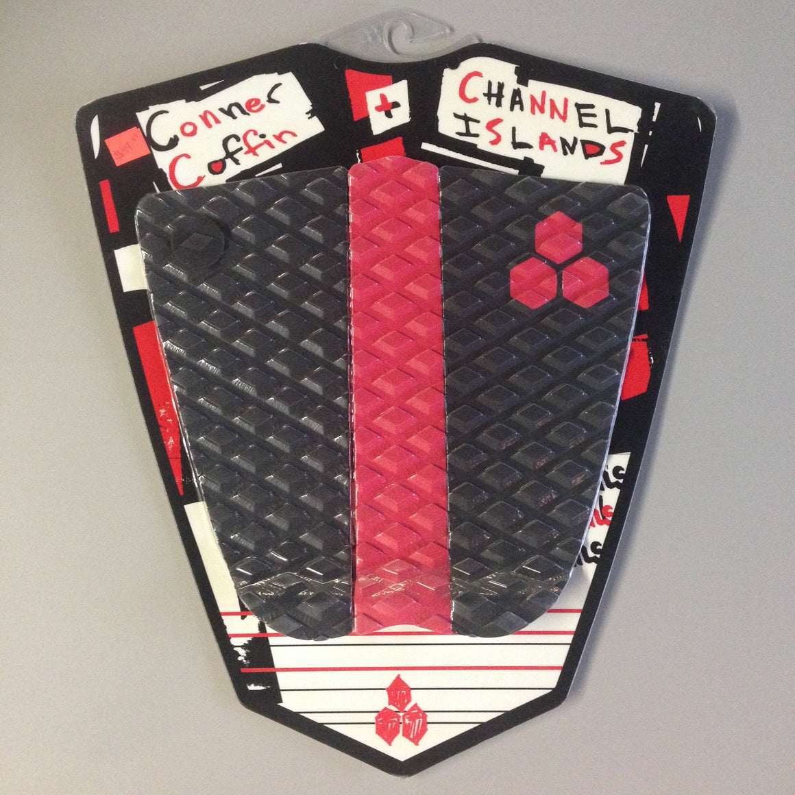 Deck pads - Channel Islands - CI Connor Coffin Black/Red