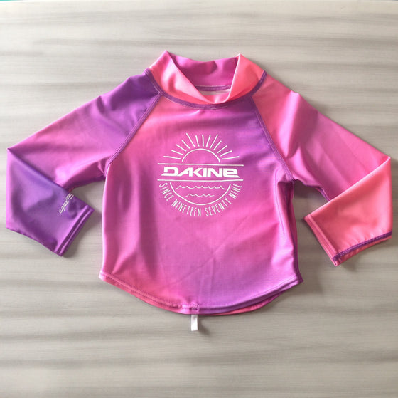 Dakine Toddler Rashies: Dakine Girls L/S Pink Sunset - Surf Ontario