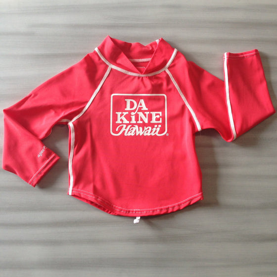 Dakine Toddler Rashies: Dakine Girls Toddler L/S Poppy - Surf Ontario