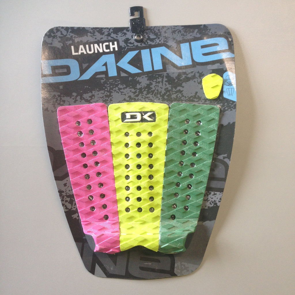 Deck pads - Dakine - Launch - Pink/Yellow/Green
