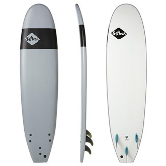 Softech Handshaped 8'4 Smoked Grey - FCS
