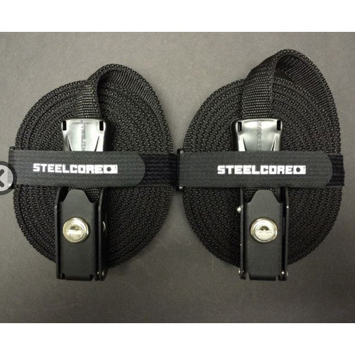 Tie Downs / Straps - Steel Core 12' Locking Tie Down Straps - Surf Ontario