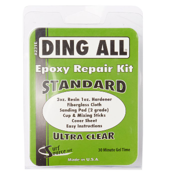 Ding Repair - Ding All Standard Epoxy Repair Kit - Surf Ontario