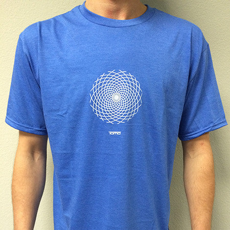 T-Shirts - Tomo circle logo - Blue - Surf Ontario