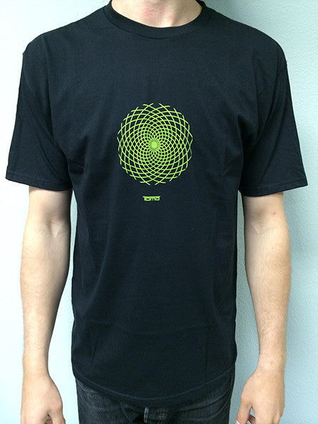 T-Shirts - Tomo circle logo - Black - Surf Ontario