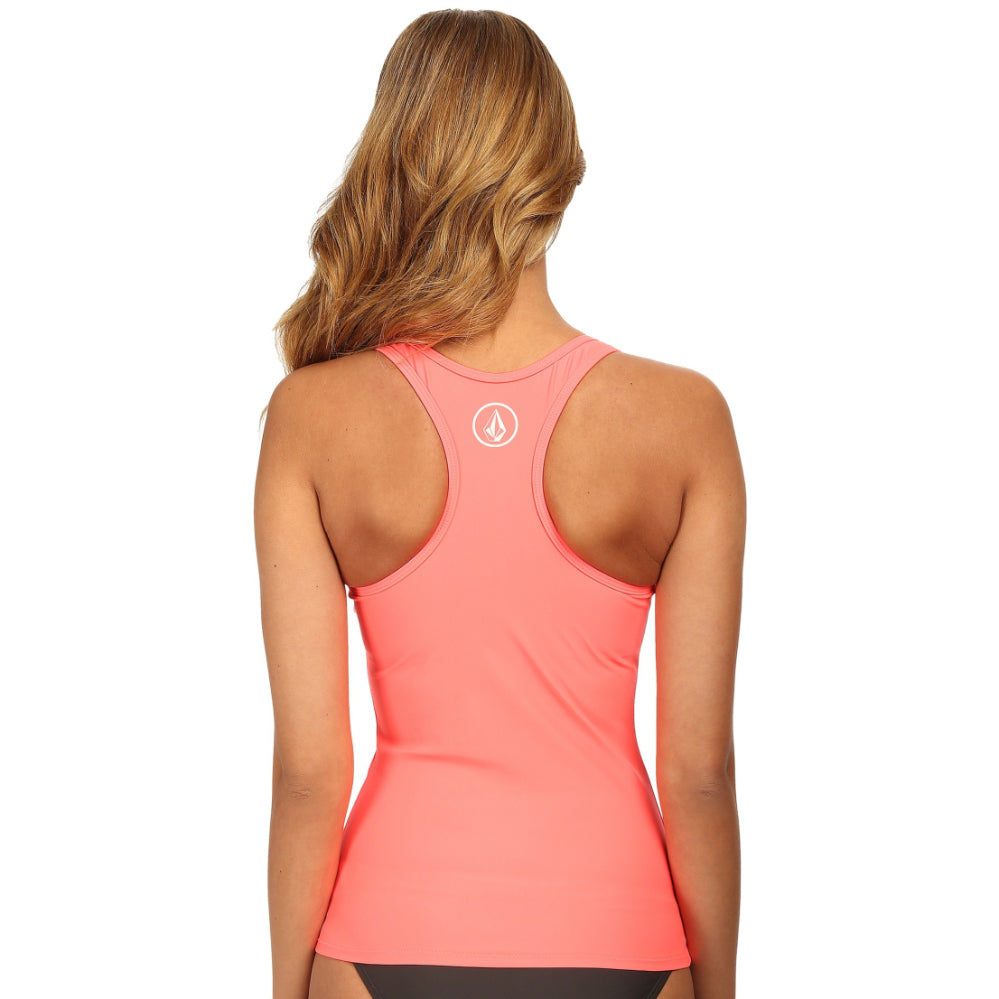 Volcom - Simply Solid Tankini Top - Pale Peach