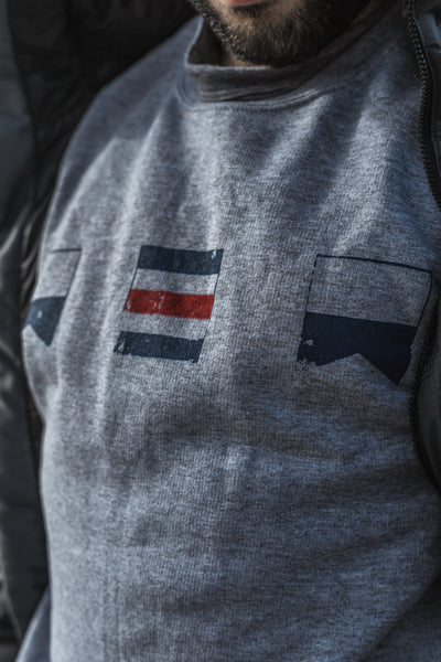 ACA Nautical Flag Logo Crewneck Sweatshirt
