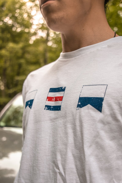 ACA Nautical Flag Logo Long Sleeve T-shirt