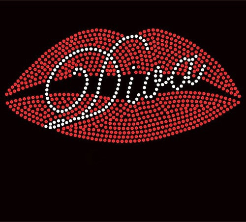 Diva in Red Lips