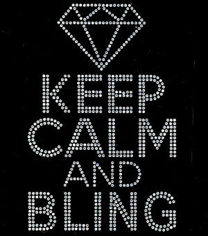 Keep Calm Is Bling
