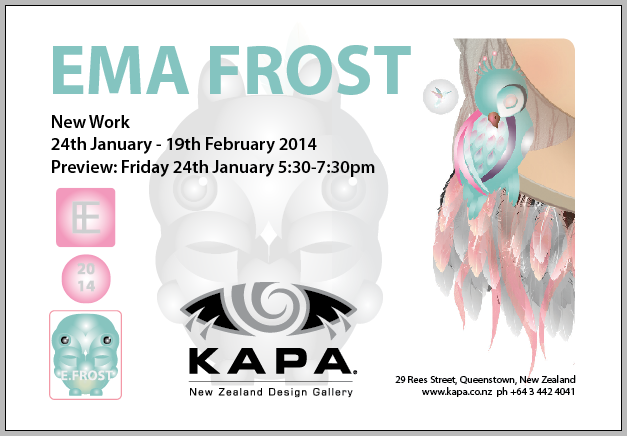 Kapa Gallery Exhibition - 24th Janurary - 19th Febuary