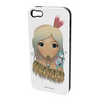 *FREE* Ema Frost Cellphone Cover (iPhone 4/4s, Samsung Galaxy S4) - Hine (White)