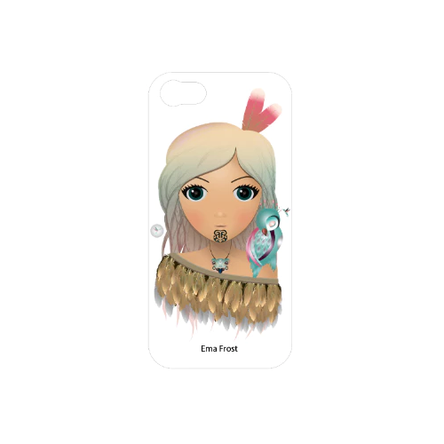 Ema Frost Cellphone Cover (iPhone 5/5s, iPhone 6/6s) - Hine (White)