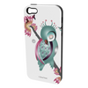 Ema Frost Cellphone Cover (iPhone 4/4s, Samsung Galaxy S4) - Sleeping Ruru Poppy (White)
