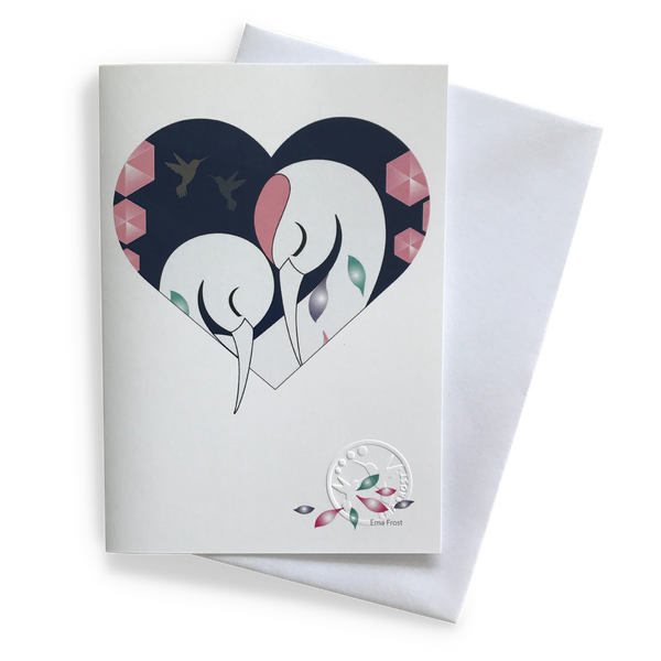 Gift Card - Heart Series: Sleeping Herons