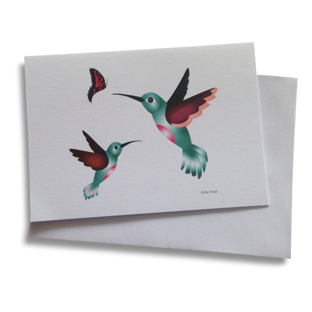 Gift Card - Hummingbirds