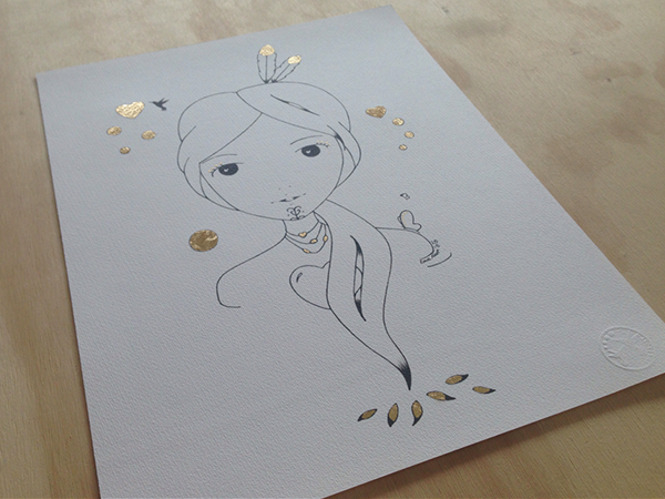 Sketch Gold Series - Amelia Hine