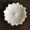 Marble Flower Bowl / Large 16 Petals