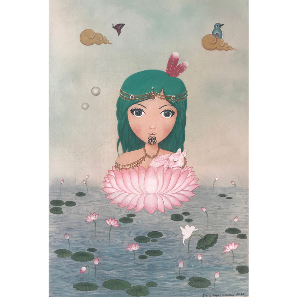Moana & The Lotus Flower (Limited Edition Print)