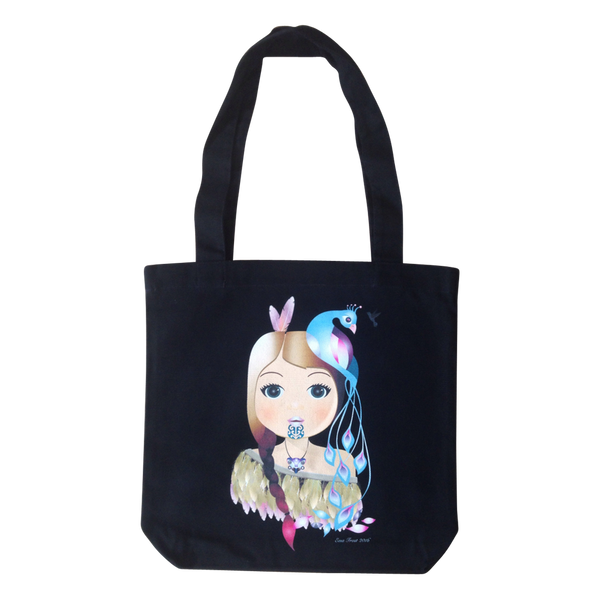 Frosty Tote Bag - Little Warrior Girl