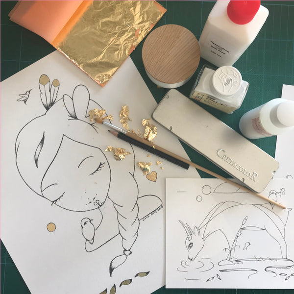 Sketch and Gilding Workshop - 7th April 10:30am -12:30pm