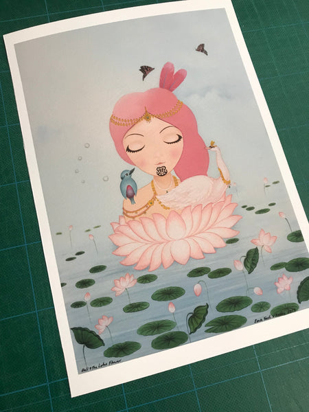Holi & The Lotus Flower (Limited Edition Print)