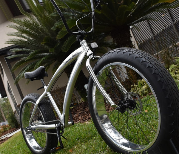 3 Speed aluminum fat tire cruisers