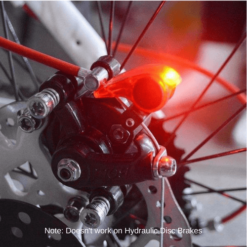Ultimate Mini Bicycle Brake Light