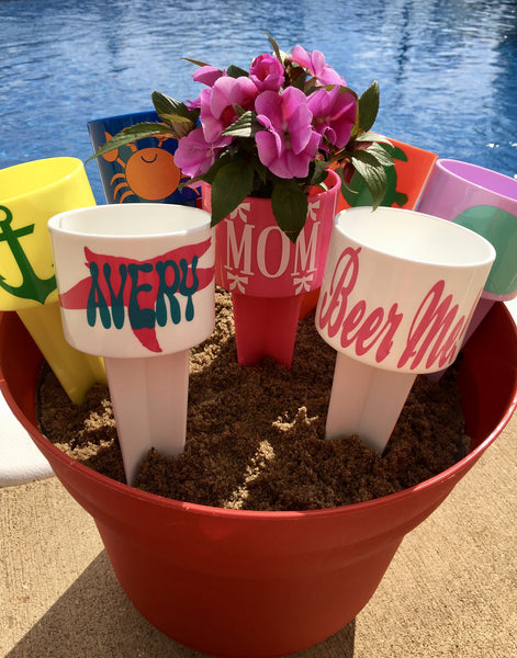 Personalized Spiker Cup Holder