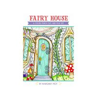 Fairy House: A Color, Punch Out and Play Set