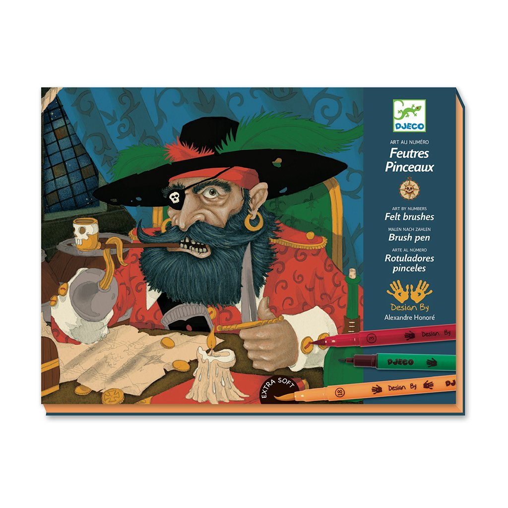 Kit de arte Dibuja Piratas