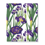 Libreta grande Purple Irises