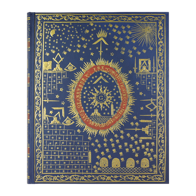 Libreta tamaño grande Constitution of the masons Journal