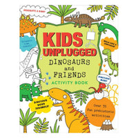 Libro de actividades Kids unplugged Dinosaurs and Friends