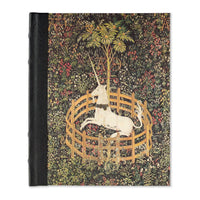 Libreta grande con lomo de piel Unicorn Tapestry Journal