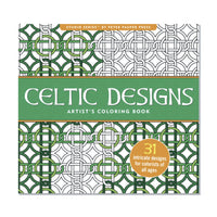 Libro para colorear Celtic Designs