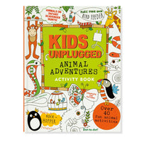 Libro de actividades Kids unplugged Animal Adventures