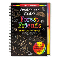 Libro para raspar Forest Friends