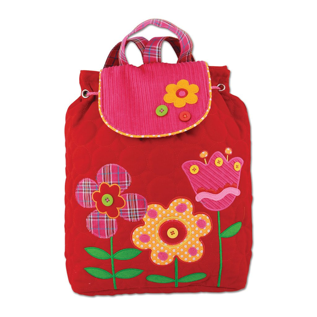 Back pack acolchada Flor