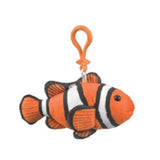 Plush Key Clip Clownfish