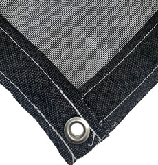 Black 63% Shade Cloth Mesh Tarp by ShadeMax