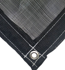 Black 73% Shade Cloth Mesh Tarp by ShadeMax