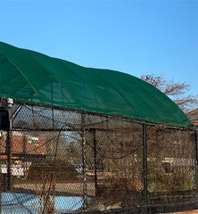 Green 10 oz Heavy Duty Vinyl Coated Mesh Tarp by ShadeMax