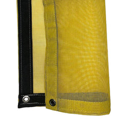 Yellow 8 oz Medium Duty Vinyl Coated Mesh Tarp by ShadeMax