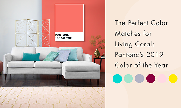 The Perfect Color Matches for Living Coral: Pantone's 2019 Color of the Year