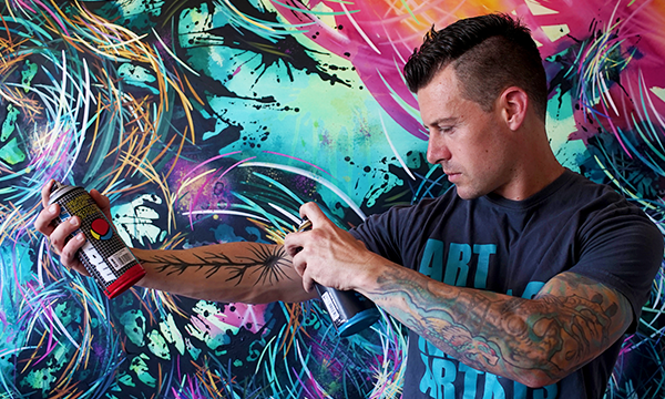 Artist Feature: Michael Carini is the Acrylic Alchemist