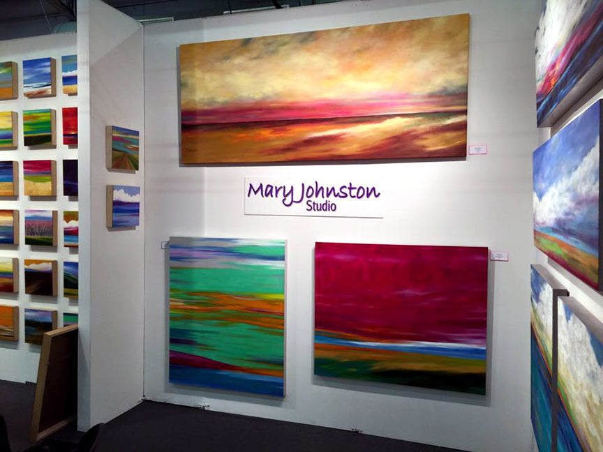 Mary Johnston Blink Artist Artexpo