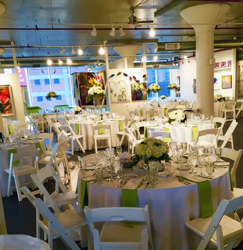 Weddings at a Gallery I Gallery Venue Rental I Art Design Consultants