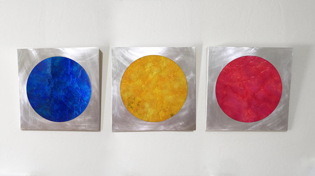 Blue, Yellow, Red Hole